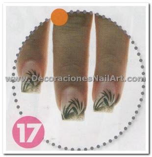 Diseño Práctico y fácil de hacer en uñas acrílicas (AEROGRAFíA) Diseño Práctico y fácil de hacer en uñas acrílicas (AEROGRAFíA) Dise 25C3 25B1os de U 25C3 25B1as 41