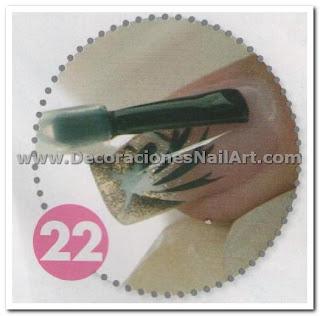 Diseño Práctico y fácil de hacer en uñas acrílicas (AEROGRAFíA) Diseño Práctico y fácil de hacer en uñas acrílicas (AEROGRAFíA) Dise 25C3 25B1os de U 25C3 25B1as 43