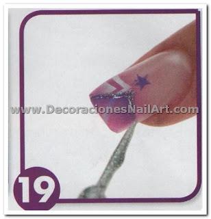 Como hacer Uñas Acrilicas con diseño aerógrafo (colorido y mágico) Como hacer Uñas Acrilicas con diseño aerógrafo (colorido y mágico) Dise 25C3 25B1os de U 25C3 25B1as 42