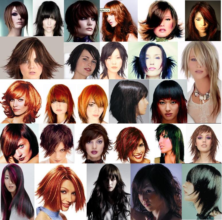 girls hairstyle pictures. The shape of our face determines the hairstyle we