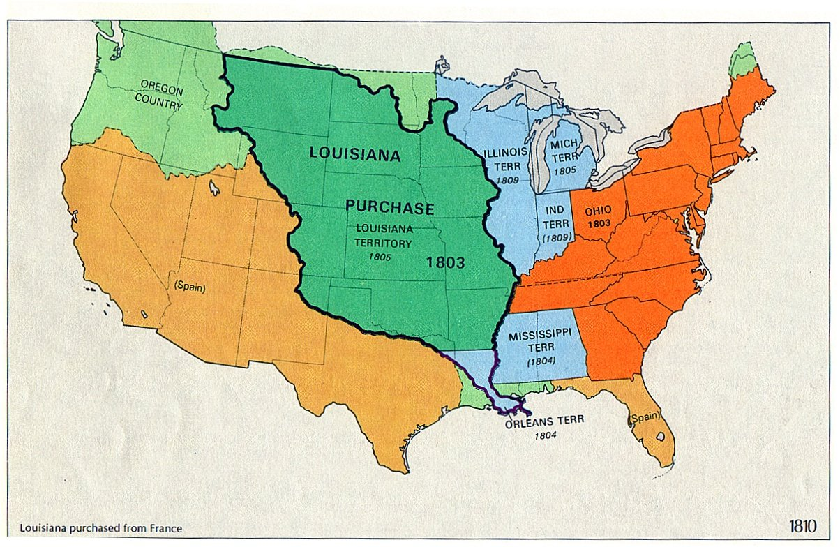 Materialistic capitalism is wonderful Summary Louisiana Purchase