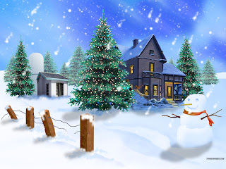 Widescreen Christmas wallpapers