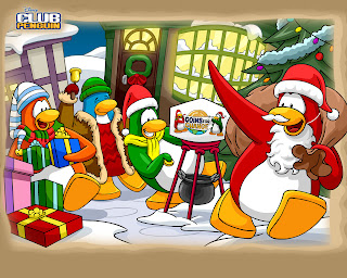 Christmas Penguin wallpapers of northpole