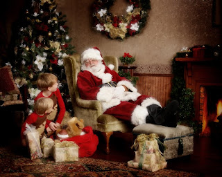 Santa sleeping pictures
