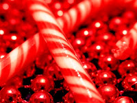 christmas candy cane wallpaper