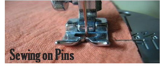 Sewing on Pins