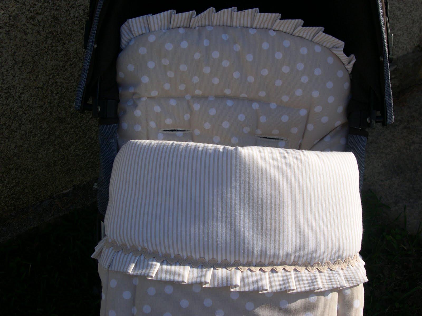 Bordaym s complementos infantiles sacos personalizados for Saco para silla maclaren