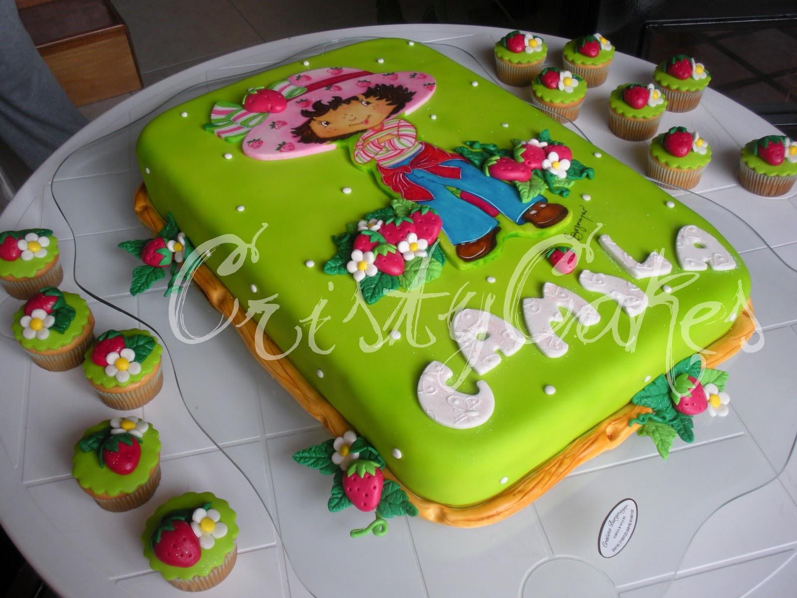 ... torta y una rica gelatina en forma de hexagono con la imagen de