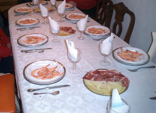 Na casa de Jose Antonio e Rosalia