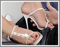 legs feet sandals