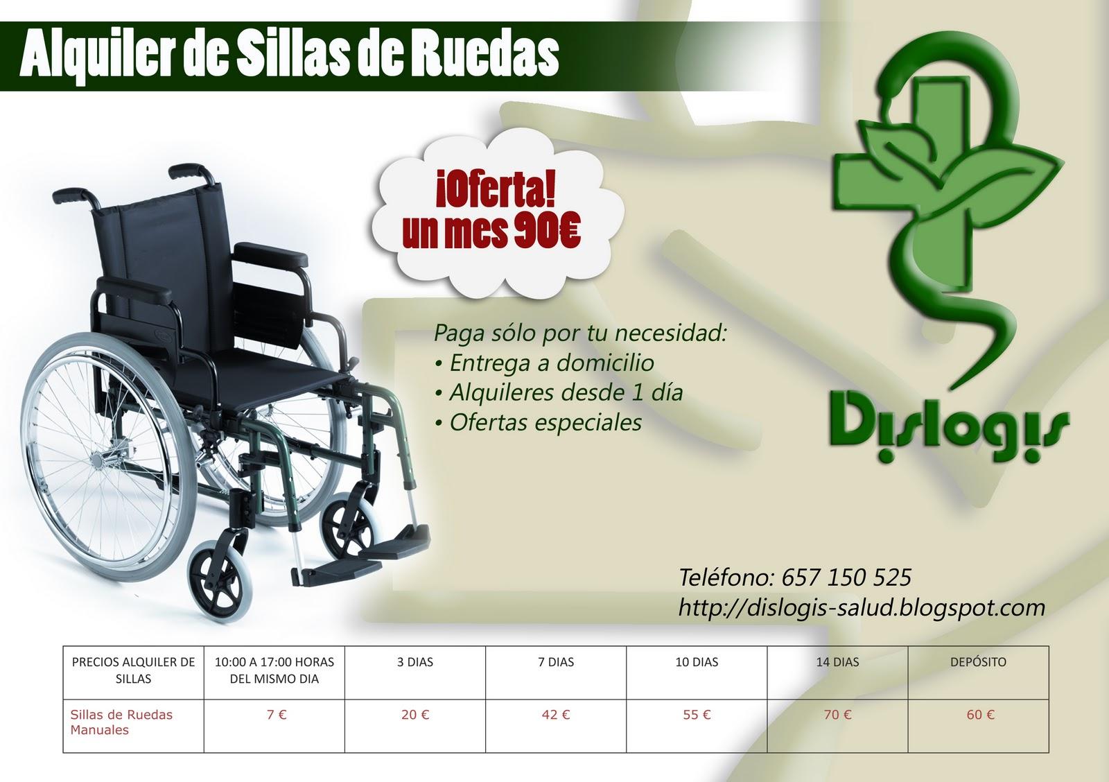 Dislogis ayudamos a tu salud alquiler de sillas de ruedas - Alquiler de sillas de ruedas en valencia ...