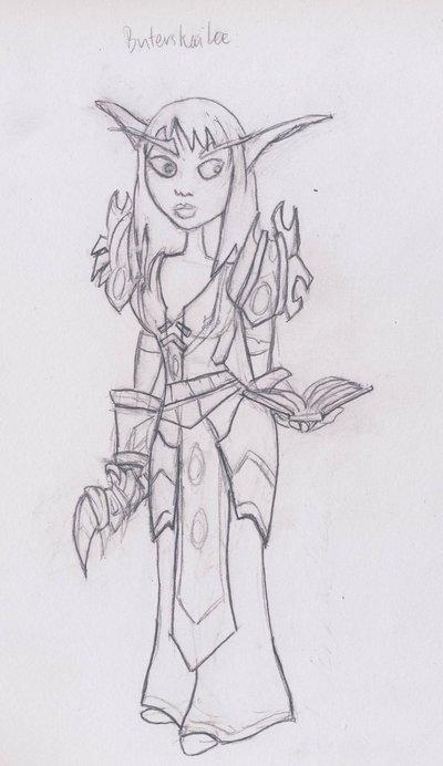 world of warcraft night elf druid. makeup WoW Night Elf Druid