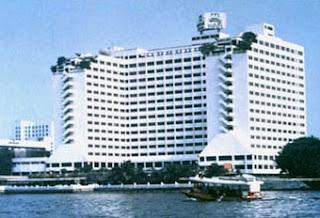 Weicome to Loy Krathong at Menam Riverside Hotel Bangkok