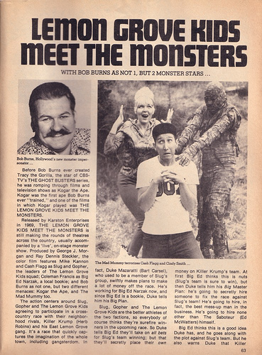 The Lemon Grove Kids Meet Grasshopper And Vampire Lady From Outer Space 1965