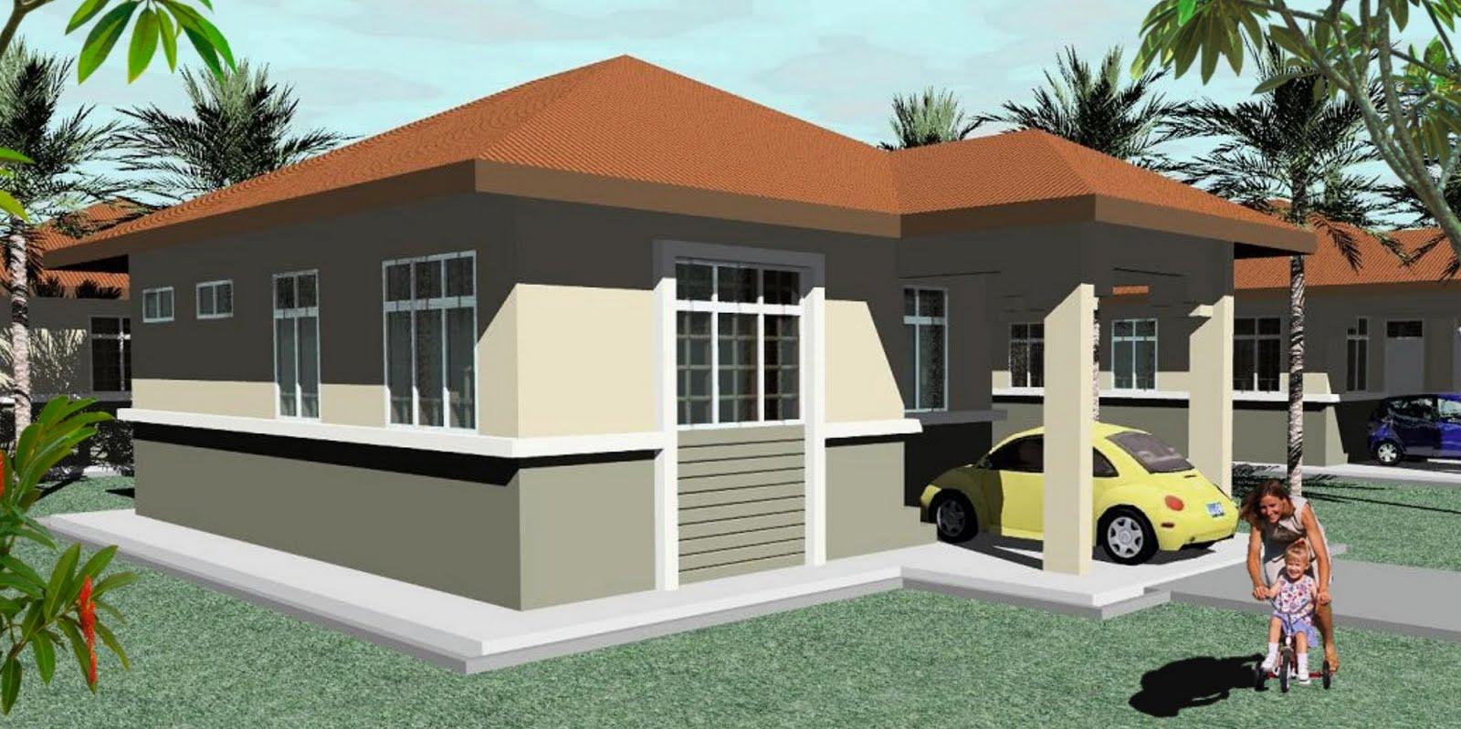 Contoh Pelan Rumah Banglo Setingkat   Download Foto, Gambar, Wallpaper ...
