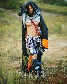 Sexy Asia: Song Jae Rim Romantic Hiking Vogue