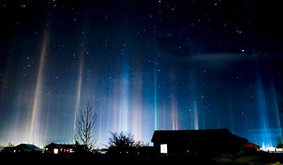 Fenomena Light Pillars