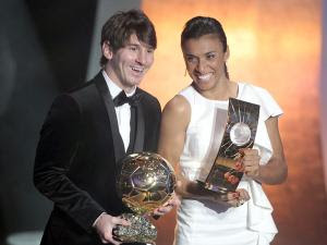 Martha Best Player of 2010 World