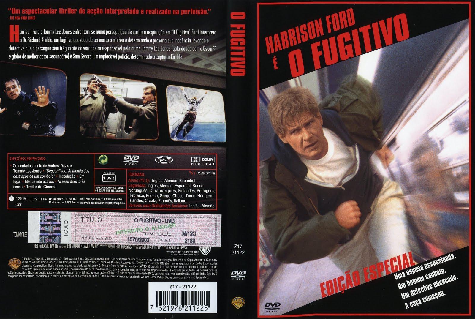 Resultado de imagem para o fugitivo 1993