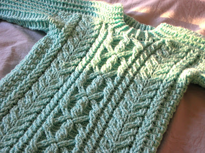 Aran Knitting : Free Aran Knitting Sweater Patterns