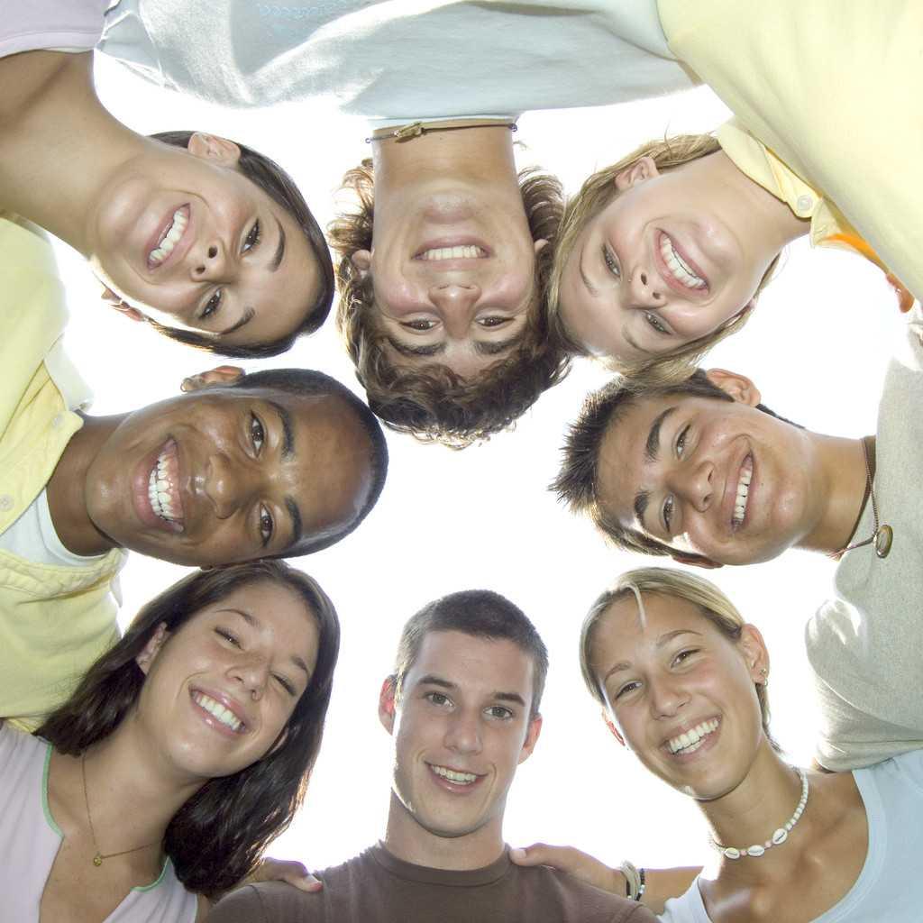 Jesus con jovenes