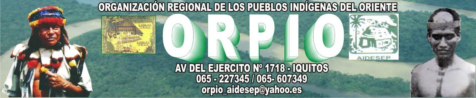 PUEBLOS INDIGENAS AMAZONICOS - ORPIO AIDESEP