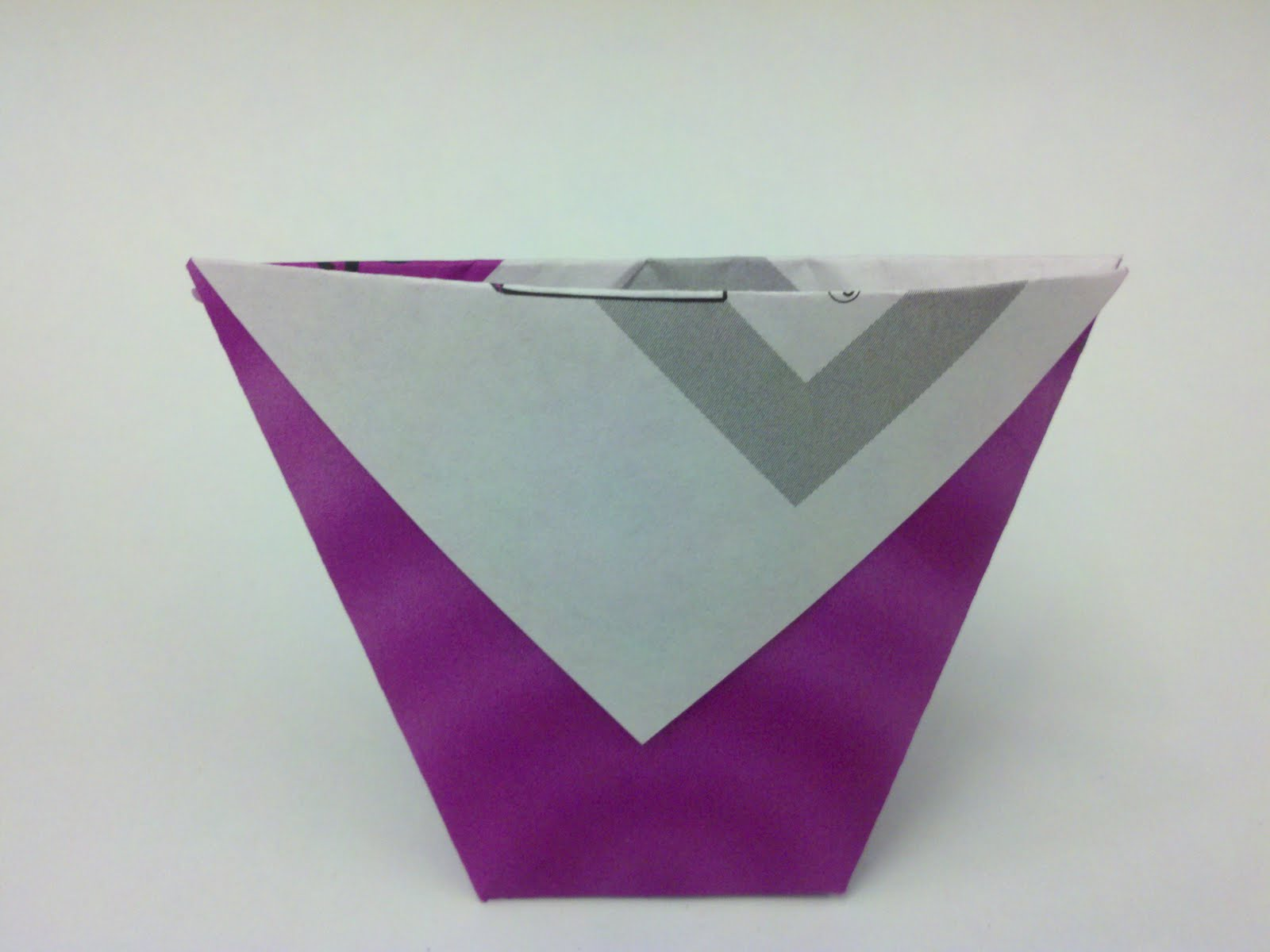 everyday origami paper cup