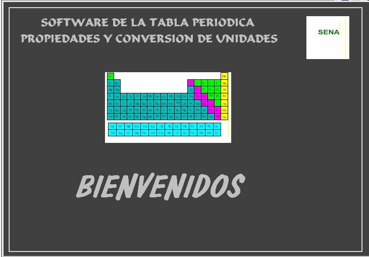 dienvenidos - Tabla Periodica En Visual Basic