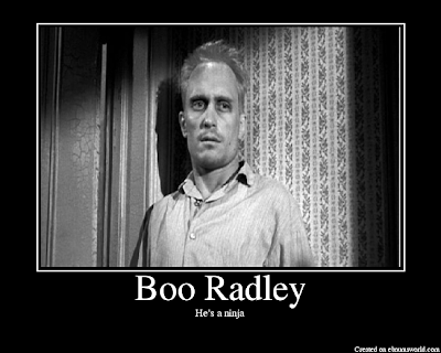 stuff white people do: hang back like boo radley during ...