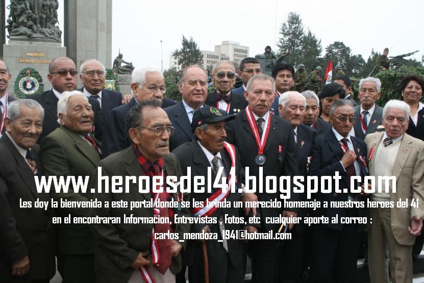 HEROES DEL 41