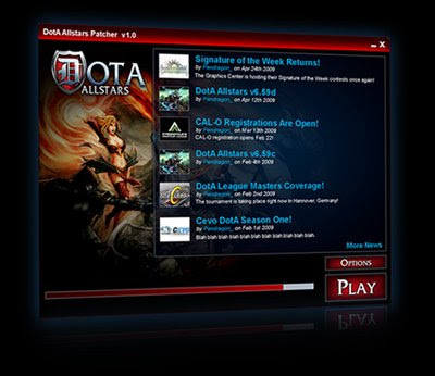 DotA Allstars Patcher (Auto Map Updater) | Download DotA Patcher Free