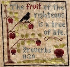 cross stitch peddler