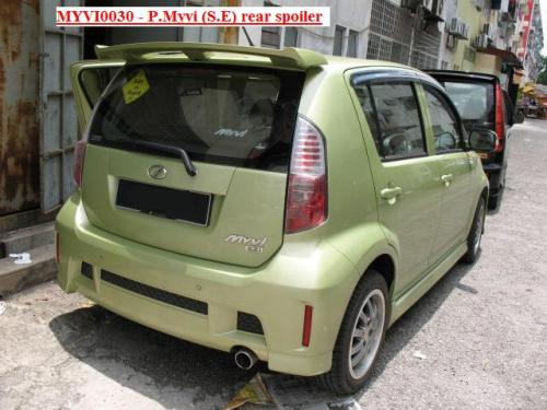 Perodua Myvi Se. Myvi SE Side Skirt (FRP)