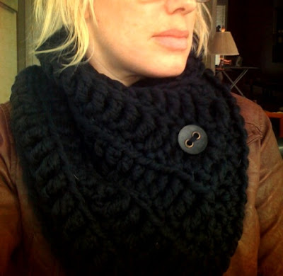 Elletrain Knits The Black Hole Cowl Pattern