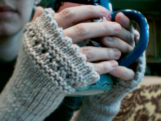 Elletrain Knits Cabling Without A Cable Needle And Fingerless