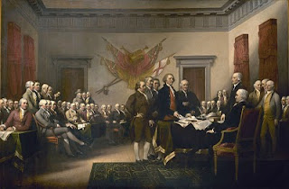 Founding Fathers portrait