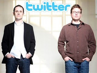 Evan Williams and Biz Stone - Co Founders of Twitter