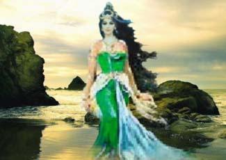 Misteri Ratu Pantai Selatan Nyi Roro Kidul