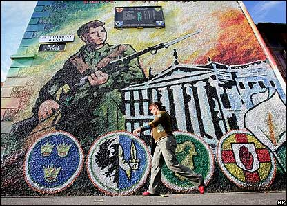 The age case files case 137 the history of ireland for Easter rising mural