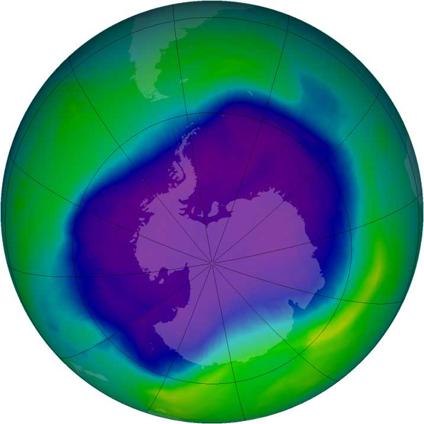 officially discovered the now controversial hole in Earth's ozone layer.