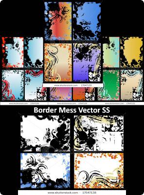 Border Mess Vector SS