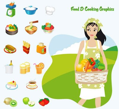 Food Cooking Graphic