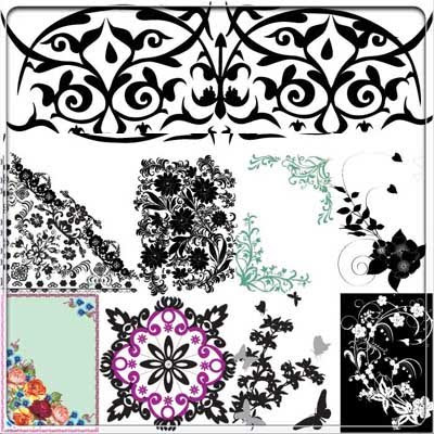 Download SS Foral Pattern vector
