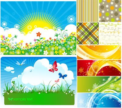 Download Spring Vector Mix