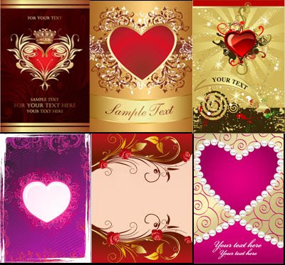Download Vector Hearts Banner