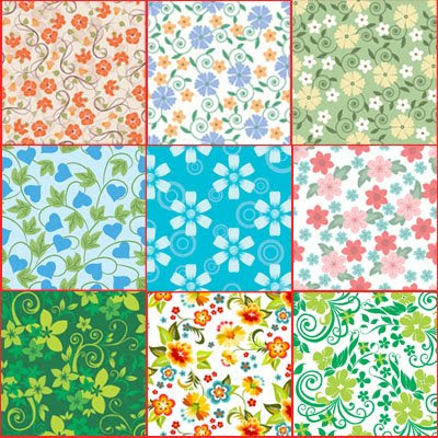 Download Foral Vector Texture