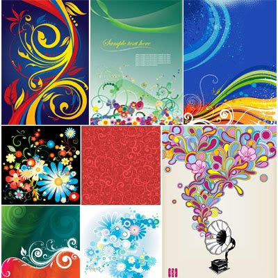 Swirl Vector Design Backgrounds