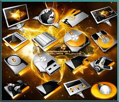 Download DarkMatter-Solar-Flare-Icons