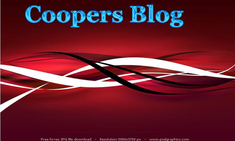 Cooper's Blog