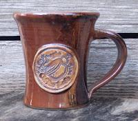 Webb Pottery Stoneware Coffee Mug for The Coffee Loft, Anne Webb 2006